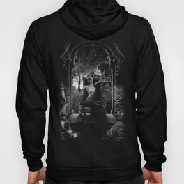 XI. Justice Tarot Card Illustration Hoody