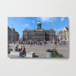 Amsterdam City Centre  Metal Print