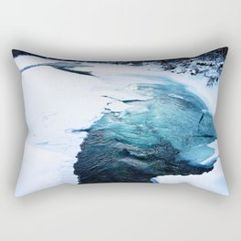 River Monster Rectangular Pillow