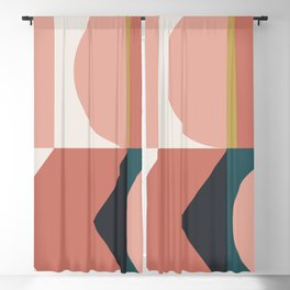 Maximalist Geometric 02 Blackout Curtain