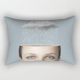 Bad Mood Rectangular Pillow