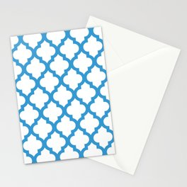 Moroccan Quatrefoil Pattern 750 Stationery Cards
