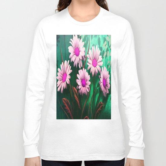 Mythical SunFlowers Long Sleeve T-shirt