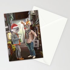 A Cats Night Out Christmas edition Stationery Cards