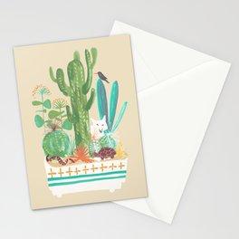 Desert planter Stationery Cards