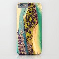 Ala Moana Beach Park, Magic Island, and Diamond Head  iPhone 6s Slim Case