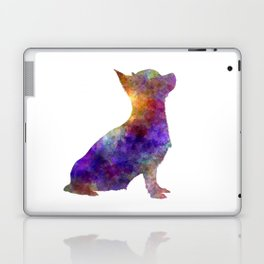 Chihuahua 01 in watercolor Laptop & iPad Skin