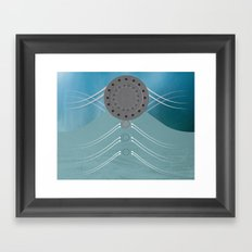 origination of the spirit Framed Art Print