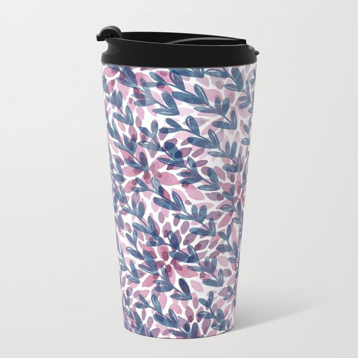 Pattern 61 Metal Travel Mug