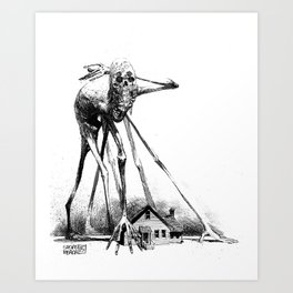 Creaky Bob Art Print