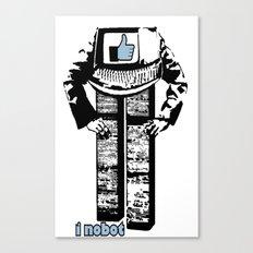 I nobot Canvas Print