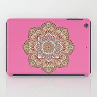 islam iPad Cases featuring Pink Mandala by Mantra Mandala