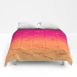 Flock Together Comforters