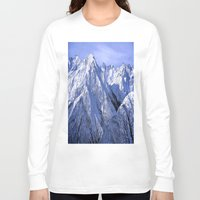 giants Long Sleeve T-shirts featuring Giants by Robin Curtiss
