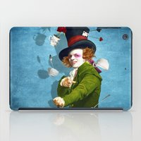 mad iPad Cases featuring Mad Hatter by Diogo Verissimo