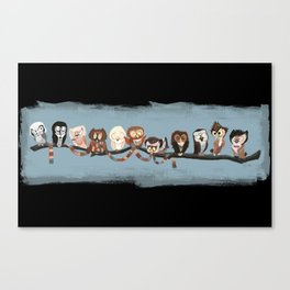 Doctor Hoo - Painted Version Canvas Print