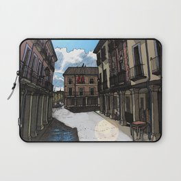 Calle Mayor (color) Laptop Sleeve