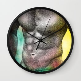 body art  Wall Clock