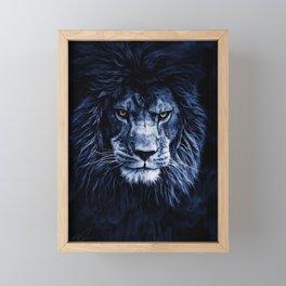 PANTHERA LEO Framed Mini Art Print
