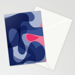 Evolution of a Dot | Modern Happy Art Stationery Cards