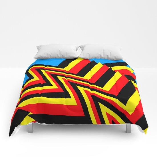 Swishy-Swashy Comforters