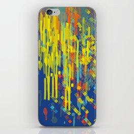 colorfall iPhone Skin