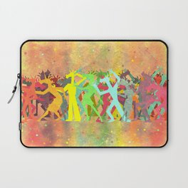 Conga Line Unicorns Laptop Sleeve