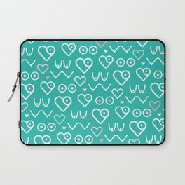 Pumpspotting Pattern Laptop Sleeve