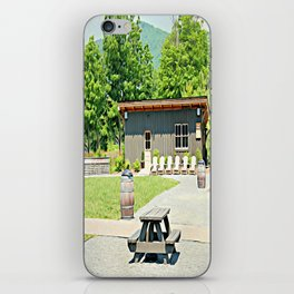 Little Shanty In The Hills iPhone Skin