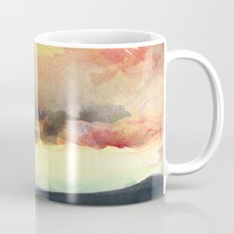 Yellow Sky Coffee Mug