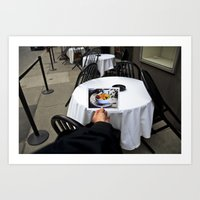 Picture Picture Fruit Art Print