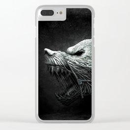 darkwolf Clear iPhone Case