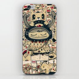 the keeper of the forest iPhone Skin