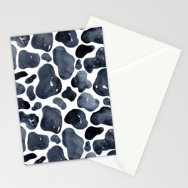 Watercolour Cow Print Stationery Cards