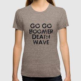 GoGo Boomer Deathwave T-shirt