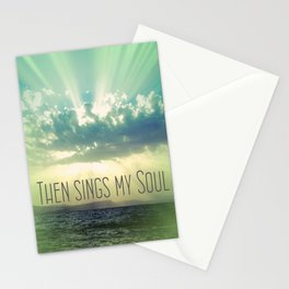 Then Sings My Song Sunbeams Stationery Cards