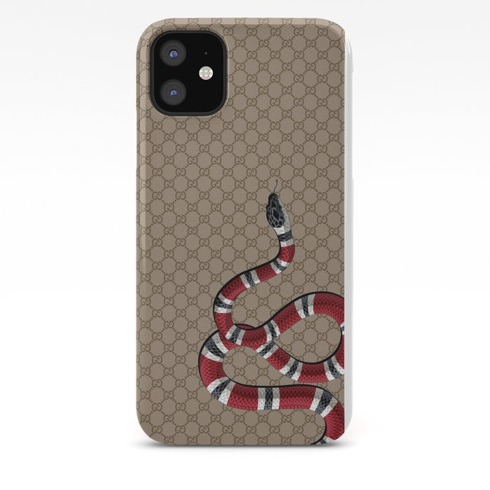 GucciSnake iPhone Case by yourstruly1