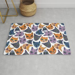 Cats Allover Rug