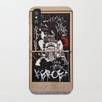 grafitti iPhone & iPod Cases featuring Grafitti Door - Creep by Barbara Gordon Photography