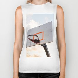 basketball hoop 4 Biker Tank