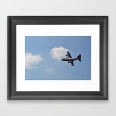 Mid-Flight Framed Art Print