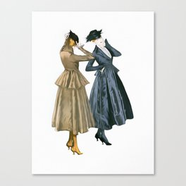 Vintage Dresses from 1915 Canvas Print
