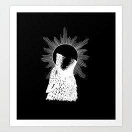 Skoll Chasing the Sun Art Print