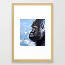 Congo Sky Framed Art Print