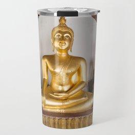 Buddha Chinnaraj, Wat Phra Si Mahathat Worawihan Wat Yai, Phitsanulok, Thailand Travel Mug