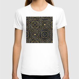 Chic Art Deco: Sophisticated Flirtation While Sipping Cognac T-shirt