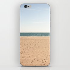 Sand, sea, sky iPhone Skin