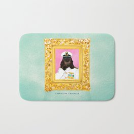 Spaniel the Casanova Bath Mat
