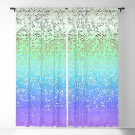 Glitter Star Dust G242 Blackout Curtain