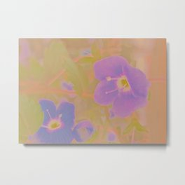 Georgia Blue, The Earth Laughs In Flowers Metal Print